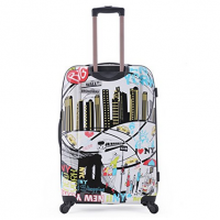 Rockland Luggage 20 Inch Polycarbonate Carry On - I love NY case
