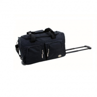 Rockland Luggage 22 Inch Rolling Duffle Bag - Black