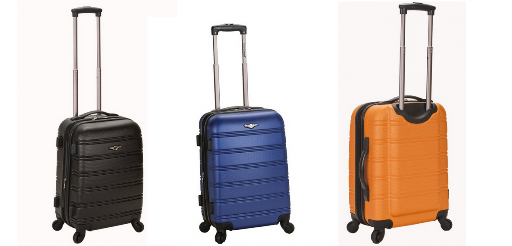 Rockland Melbourne 20 inch Expandable Abs Carry On Luggage Review