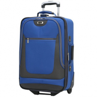 Skyway Luggage Epic 21 Inch 2 Wheel Expandable Carry On - Blue